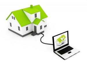 house computer suburb
