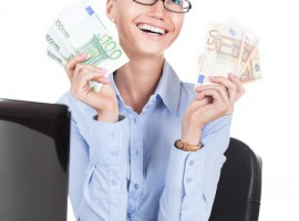 money happiness woman business euro