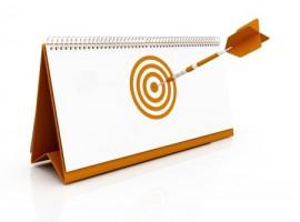 target date deadline arrow