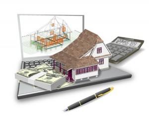 marketing computer plan house pen  calculator