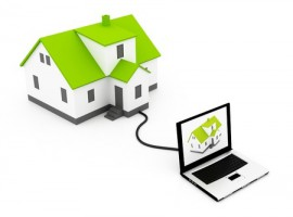 house computer real estate search data