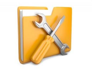 folder tools repair