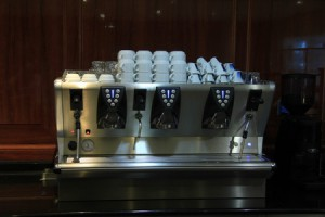 coffee machine cafe