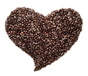coffee heart love cafe