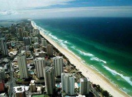 gold coast tourist town