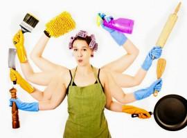 woman housework lady women job