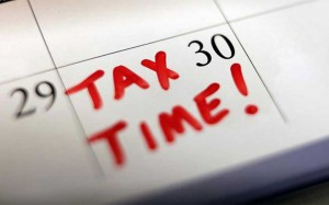 end of financial year tax