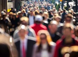 population growth people city urban crowd