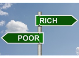 rich poor wealth income gap