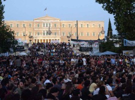 Anti-austerity gathering Greece debt