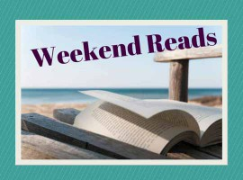 weekend reading book beach relax feature image