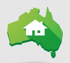 australia house property map real estate aus state country
