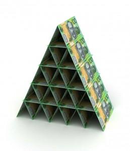 Australian Dollar Pyramid