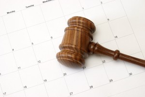calendar auction gavel time date day week