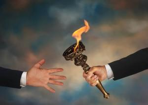mentor pass torch help assist manage job goal succeed retire