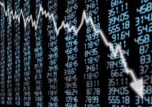 stock market crash money decline world economy