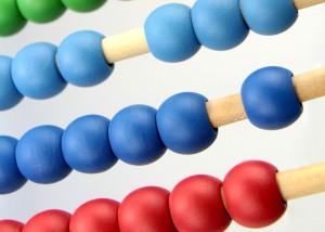 abacus maths teach kids money count lesson learn