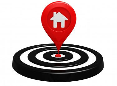 house target location area suburb map search seek plan goal aim success home property