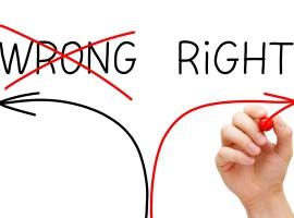 mistake pencil error wrong help choose guide decide psychology motivation