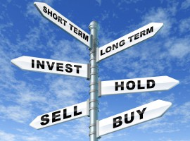 sign property buy hold sell market house gamble future