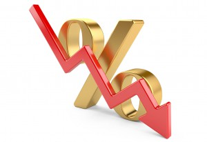 interest rate drop decline fall money mortgage