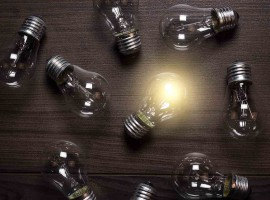 light bulb idea leader think smart clever failure motivate thought
