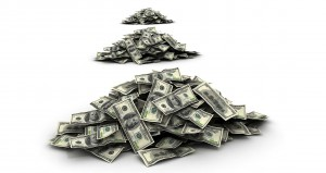 money income stream salary pile save budget