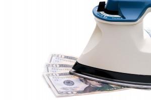 money iron launder crime fraud mistake