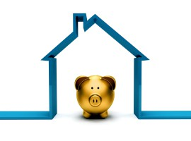 piggy bank save mortgage house property gold loan deposit