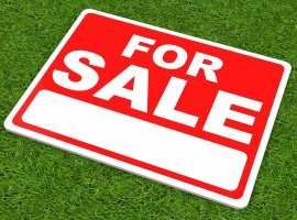 sale sign auction house property market
