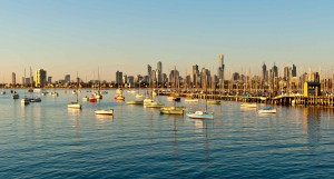 view from st kilda melbourne victoria state city live boat bay lifestyle