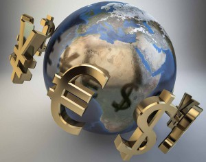 globe world currency economy money travel