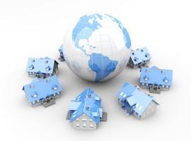 house foreign world globe property market investment buyer international