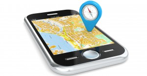 location smart phone mobile area map techonolgy direction lost help guide