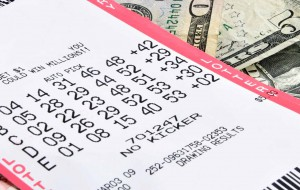 lottery ticket win luck gamble odds