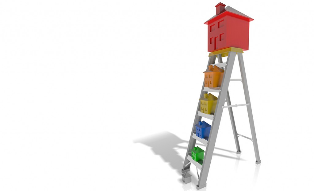 property ladder house market investor climb grow wealth first home buyer