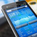 stock market money app techonology smart phone learn invest