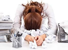 tired work stress