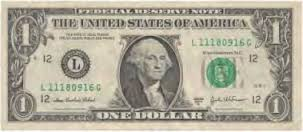 one dollar us