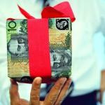 present for money