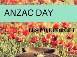 ANZAC Day - 2 short videos