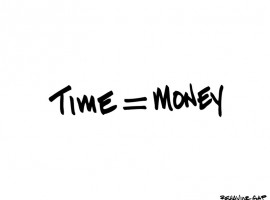 Weighing the Value of Money & Time