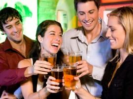 friends bar single