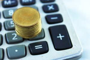 calculator coin money save debt