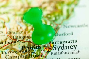 Sydney map NSW new south wales location