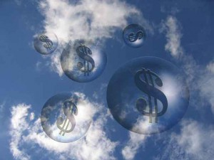 clouds money dream dollar goal