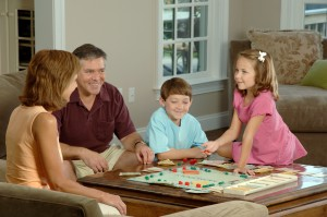 family game parent kid child
