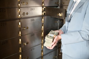 bank deposit savings save money