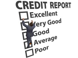 credit score report bank loan assess