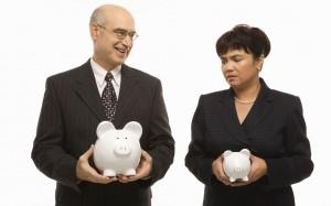 pay gap equality money super saving save retire salary men vs women woman man career work